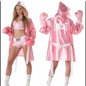 Everlast boxer chic costume size S